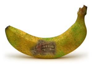 zombie banana
