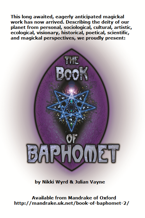 Signed copies of The Book of Baphomet