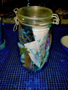 Blue Magick Spirit Jar