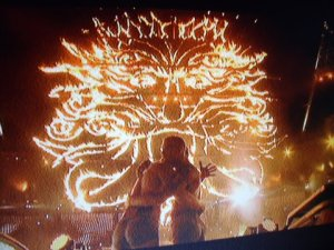 Pagan iconography at the London 2012 Paraolympics closing ceremony