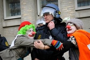 Clowns and cops @ Copenhagen