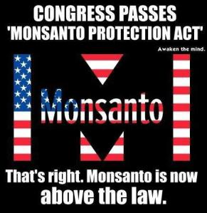 Monsanto are evil. No doubt there.
