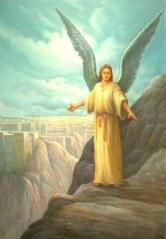 Angelic messenger