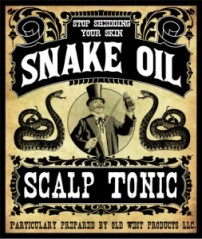 Would you like a little snake oil with that paradigm sir?