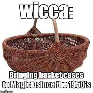Wiccan basket case