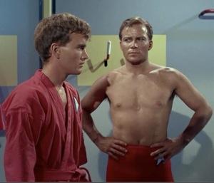 Kirk and the homo struggle