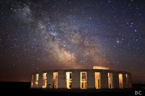 Maryhill Stonehenge Monument on the Columbia River in Washington, photograph by Ben Canales.