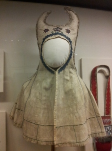 Ceremonial hooded cape made by the Anishinaabe people, Russia