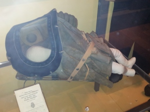 Infant's respirator from World War II