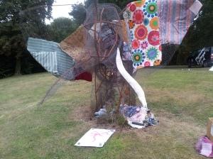 Elephant with sigil