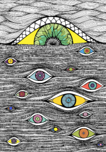The Eyes Have It - cover of Psypress Journal Vol 2
