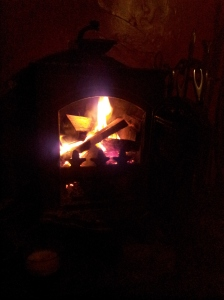 The hearth of the home