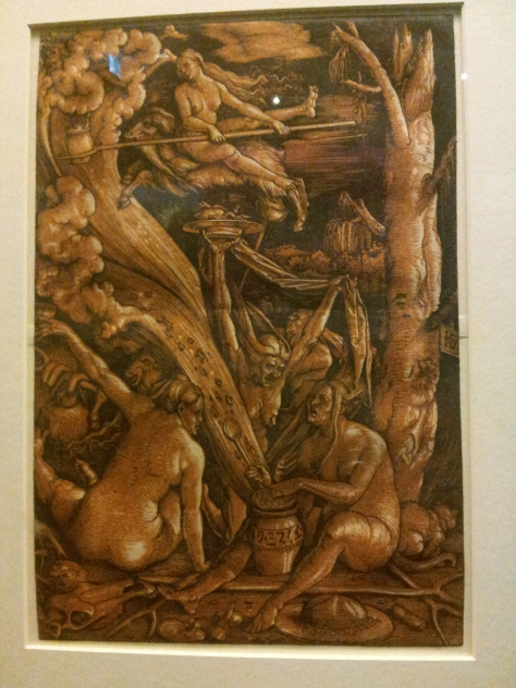 Witches' Sabbath, 1510 (Hans Baldung) Showing an obsession with the malevolence of female sexuality.