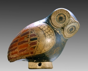 To make a wise old owl you start with fresh clay