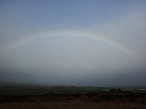 The colours of magic over West Penwith