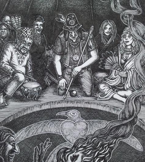 GH artwork medicine circle