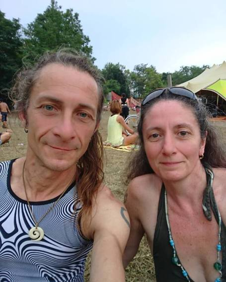 Nikki and me at Ozora